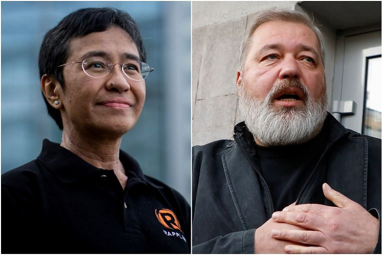 Premio Nobel para Maria Ressa, Dmitry Muratov y el periodismo