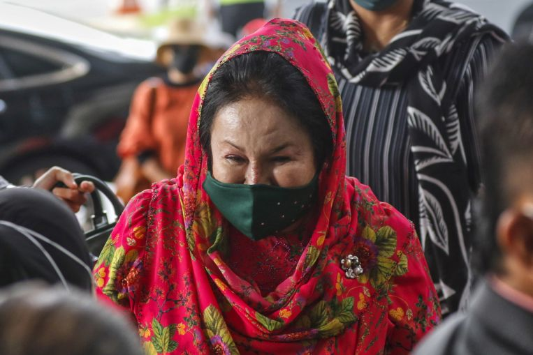 Najib's wife Rosmah free to travel to Singapore after court allows temporary release of passport