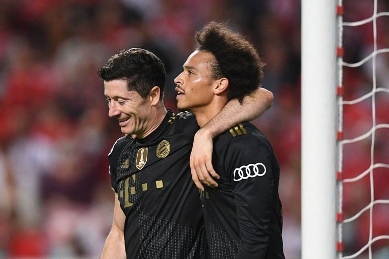Football: Relentless Bayern crush Benfica 4-0 with four goals in 15 minutes in Champions League