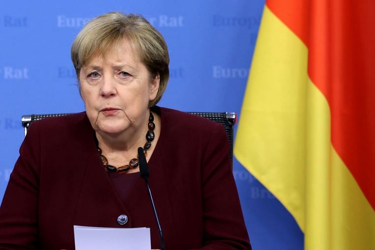 German Chancellor Angela Merkel's parting words to the EU: 'There's a lot to worry about'