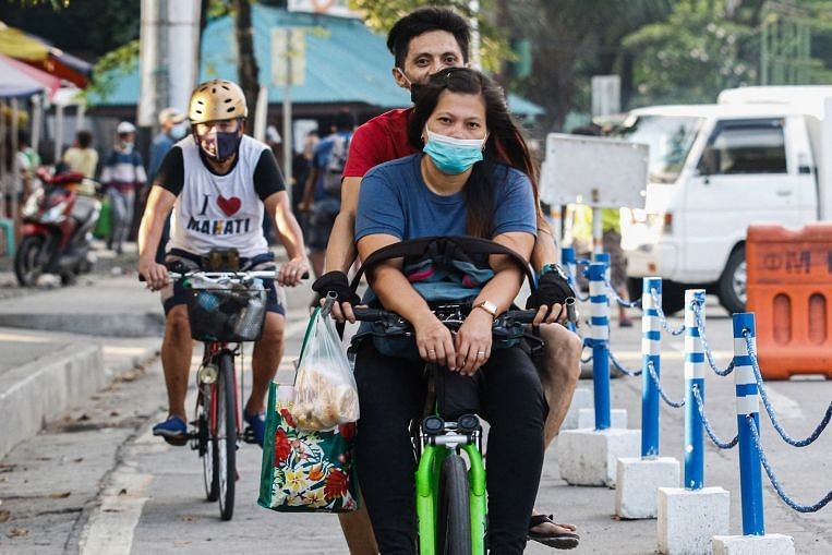 Bicycles: A boredom buster and lifeline amid pandemic in the Philippines