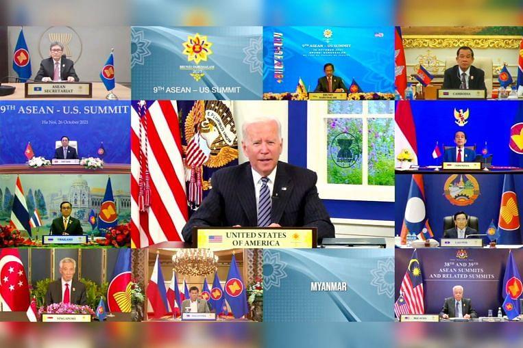 Biden mengecam rampasan kuasa dan 'keganasan ngeri' di Myanmar pada sidang kemuncak dengan pemimpin Asean, SE Asia News & Top Stories