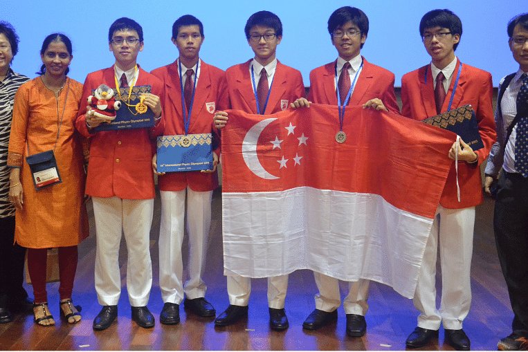 Singapore students shine at international science and