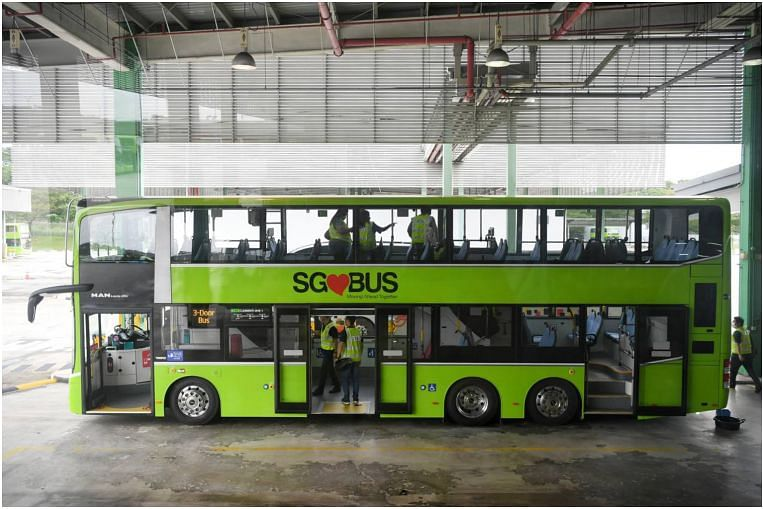 100 three-door double-decker buses with 2 staircases to be rolled out this year from end-January thumbnail