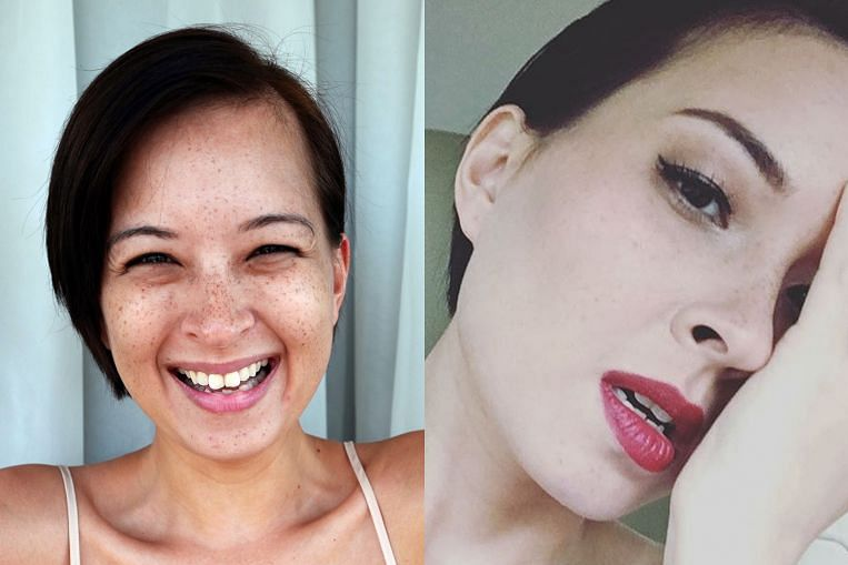 Less is more with new bare-face beauty trend