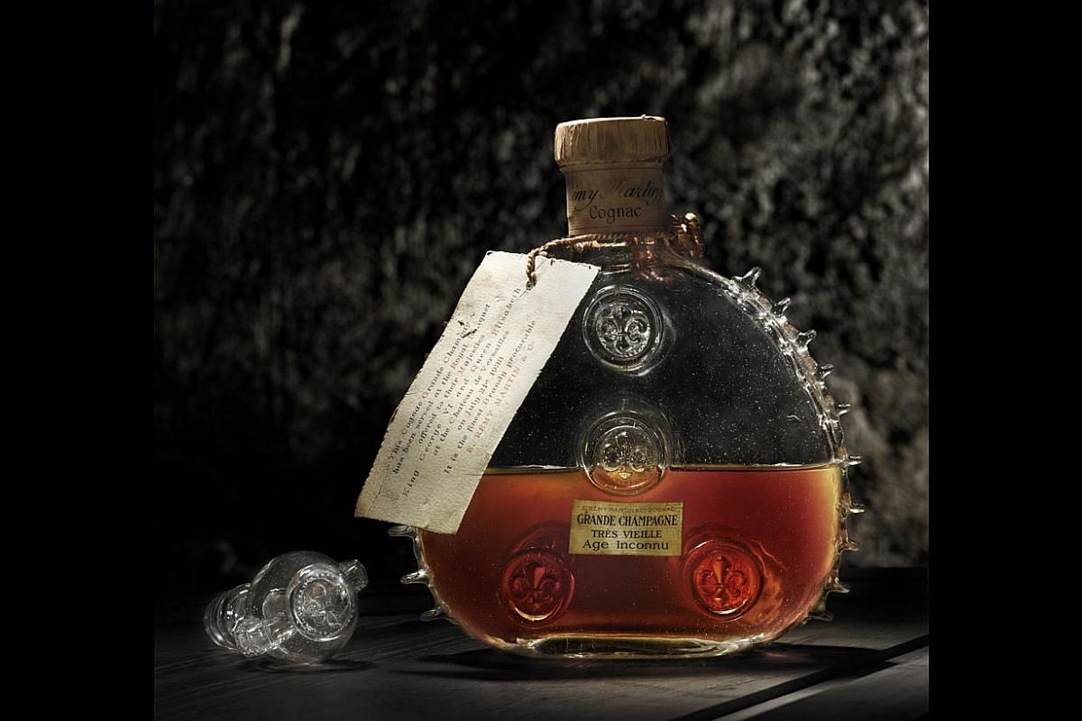 A Quest For Rare Unopened Bottles Of Louis Xiii Cognac Food News Top Stories The Straits Times