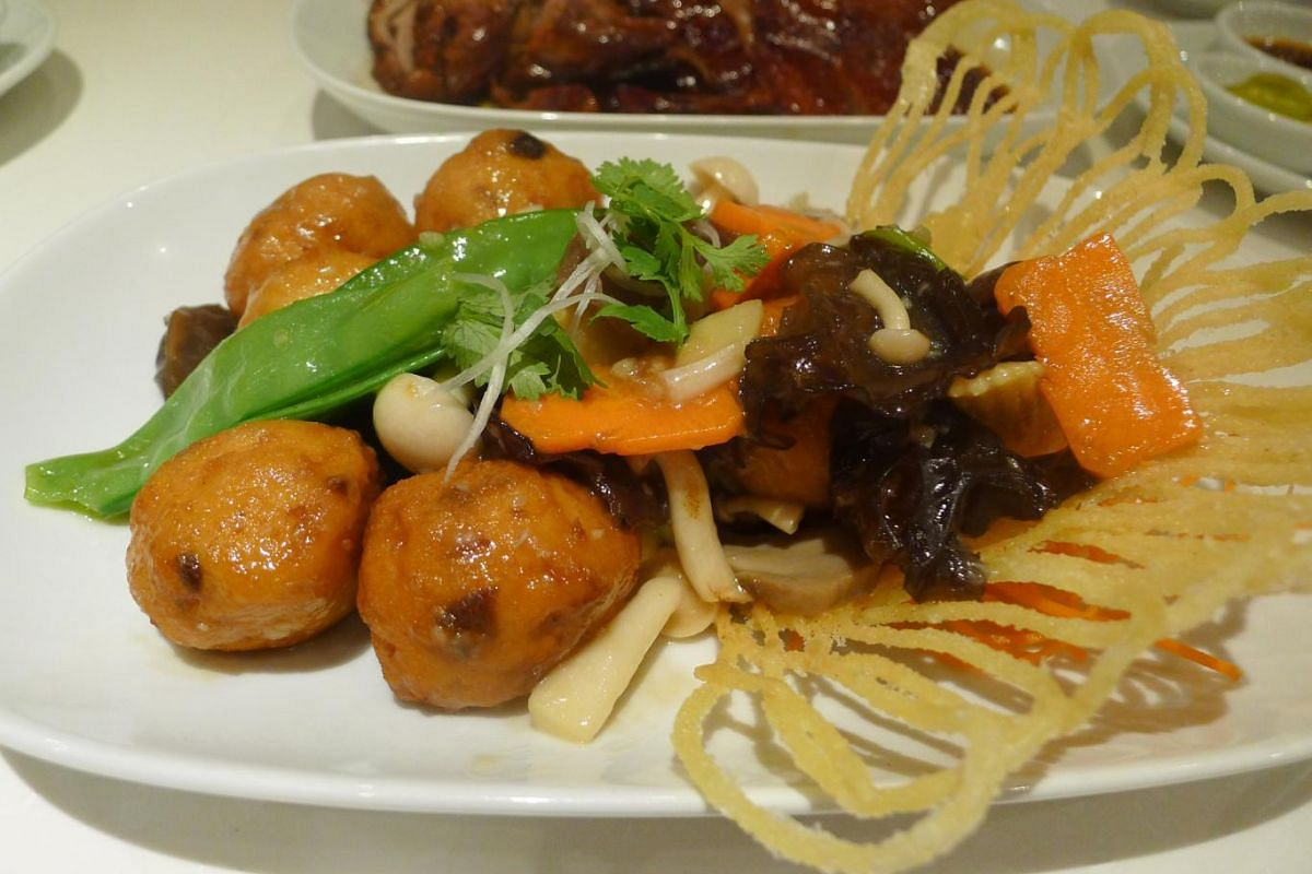 """A house special """"Pei-pa"""" Beancurd at Four Seasons Chinese Restaurant."""