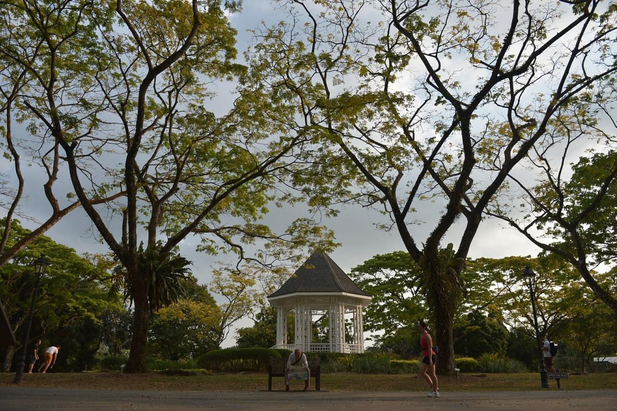 This gazebo, known as The Bandstand, was erected in 1930 and has retained its original form over the years.
