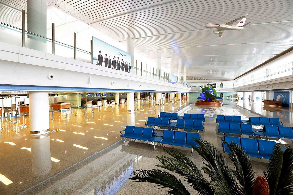 Kim Jong Un ordered the construction of the new terminal in July 2012 as he felt the existing terminal was too small compared to other foreign airports.