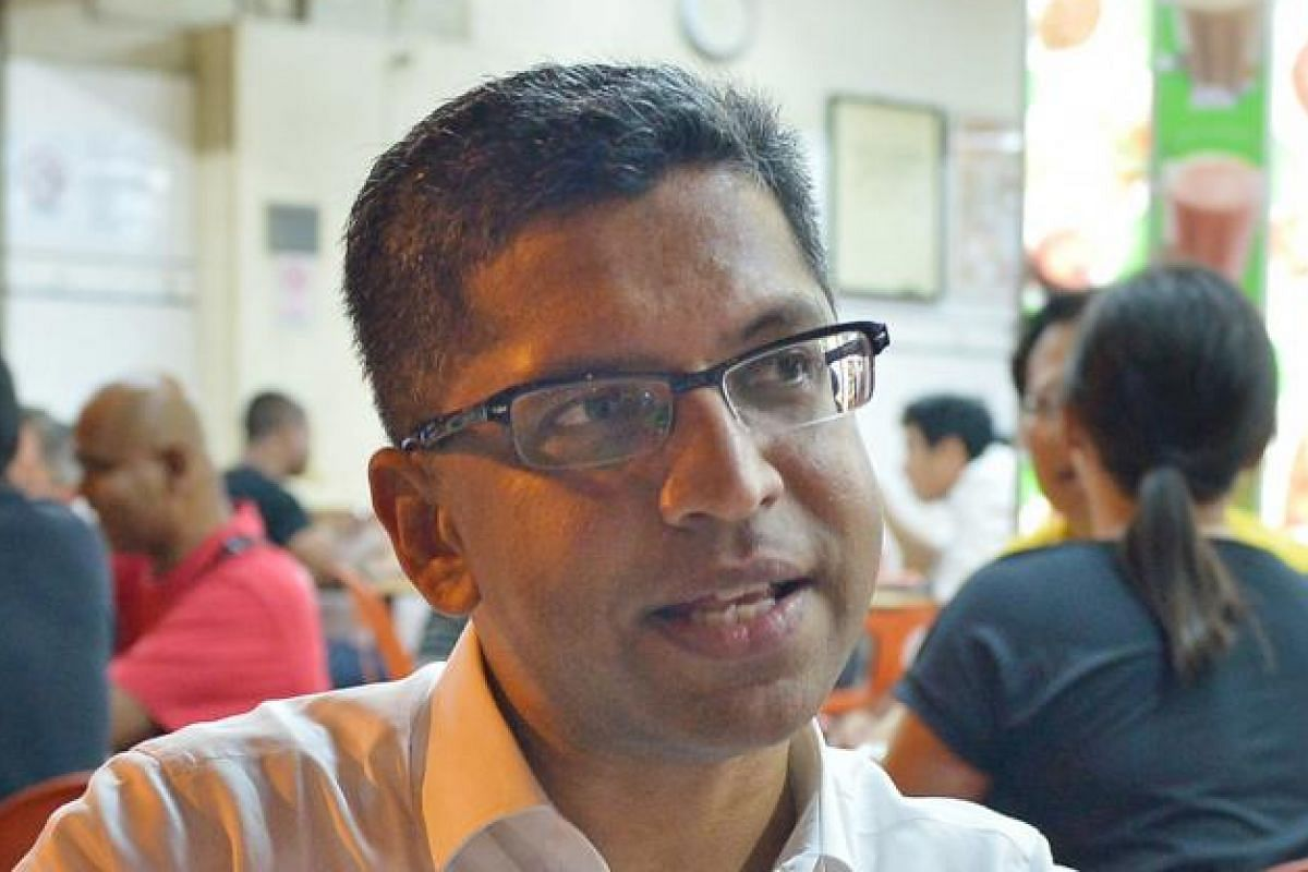 """Mr Hri Kumar Nair (Bishan-Toa Payoh) and other MPs have """"coffee mornings"""" or breakfast and dinner sessions with residents."""