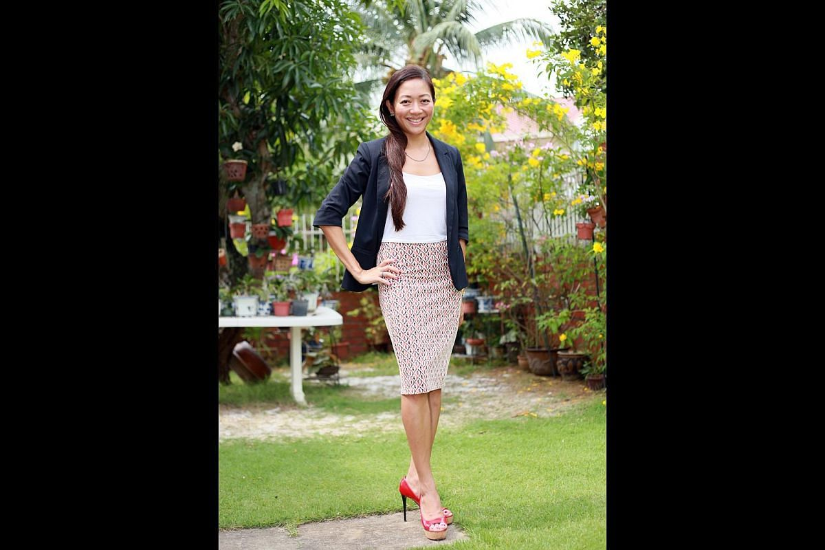 Ng Ping Ping, 37, says part of the reason she is single is because she is tall, especially in heels, and guys have told her they feel scared to approach her.