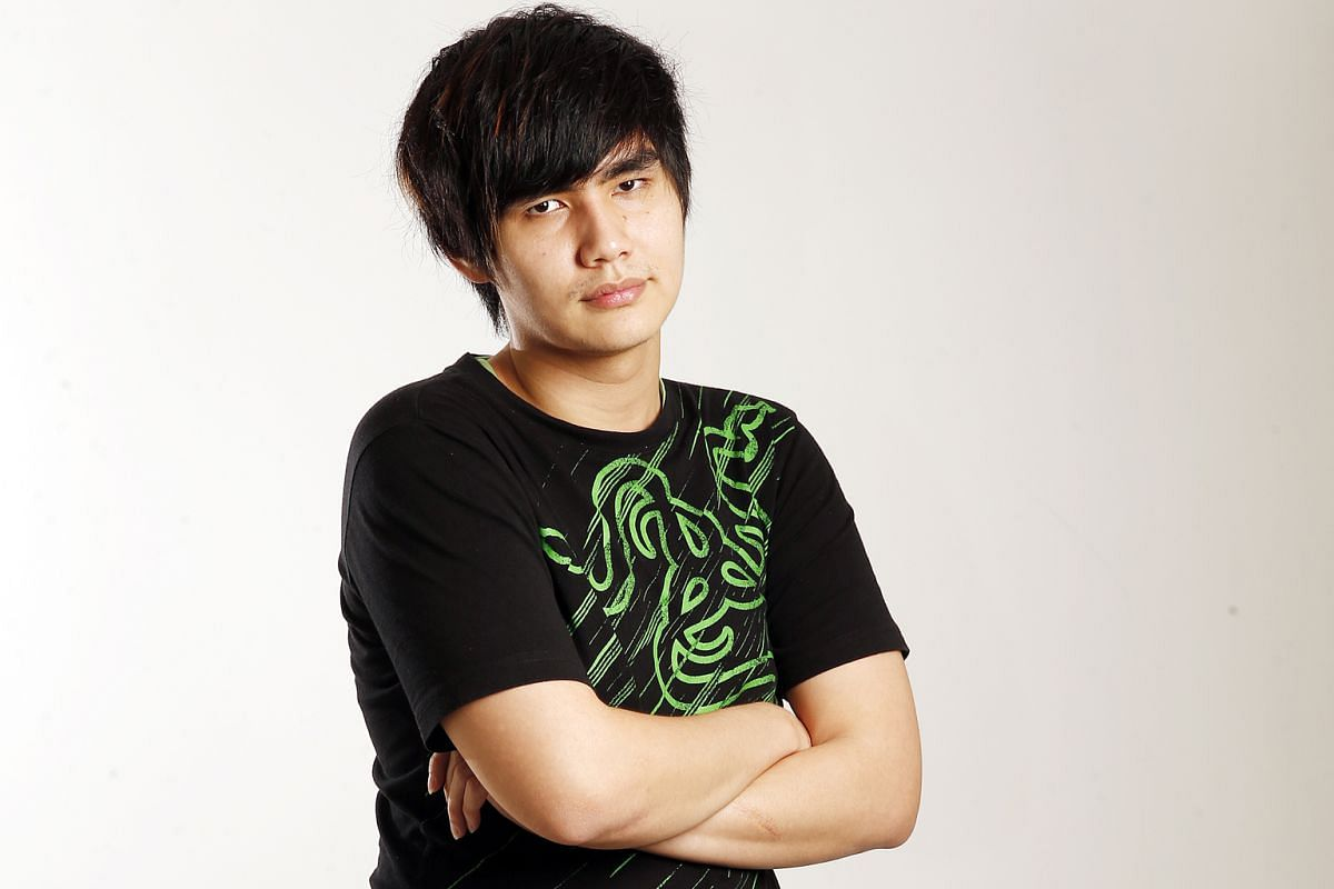 Making their mark: Ho Kun Xian, a fighting game player