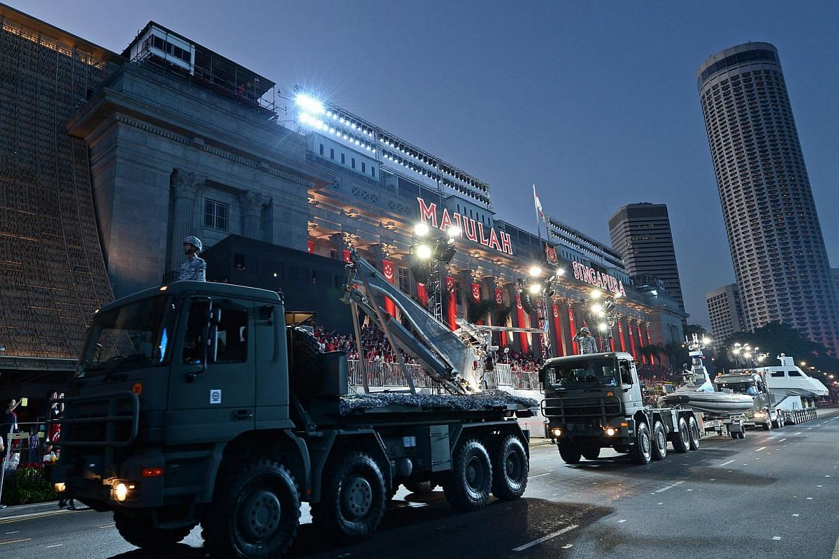 The mobile column segment, making a comeback after five years, will comprise 177 war vehicles.