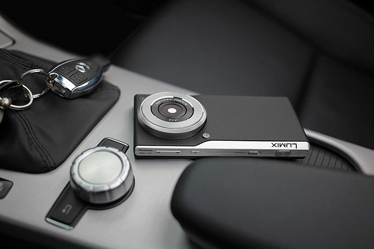 The DMC-CM1 boasts a 20.1-megapixel 1-inch CMOS image sensor, and is the world's slimmest communication camera at only 21.1mm, according to Panasonic.