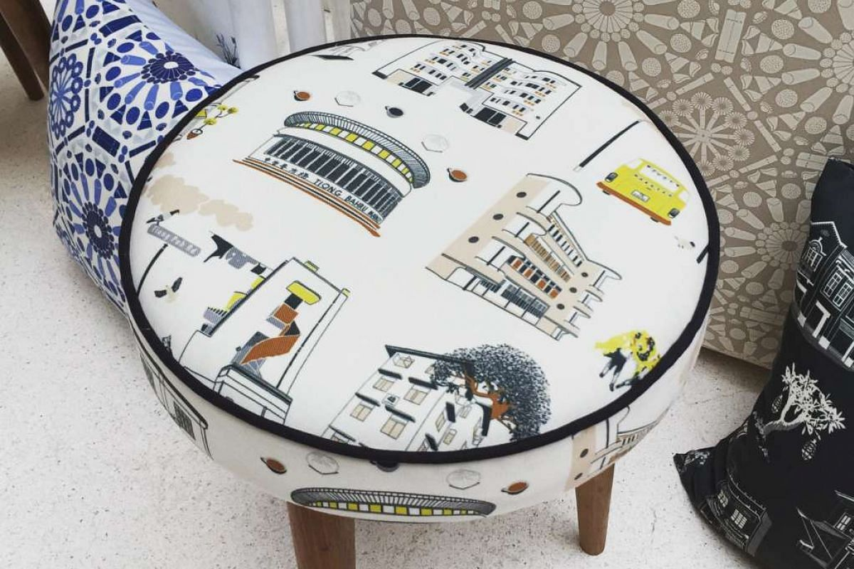 Mr Tay's Tiong Bahru stool (above).