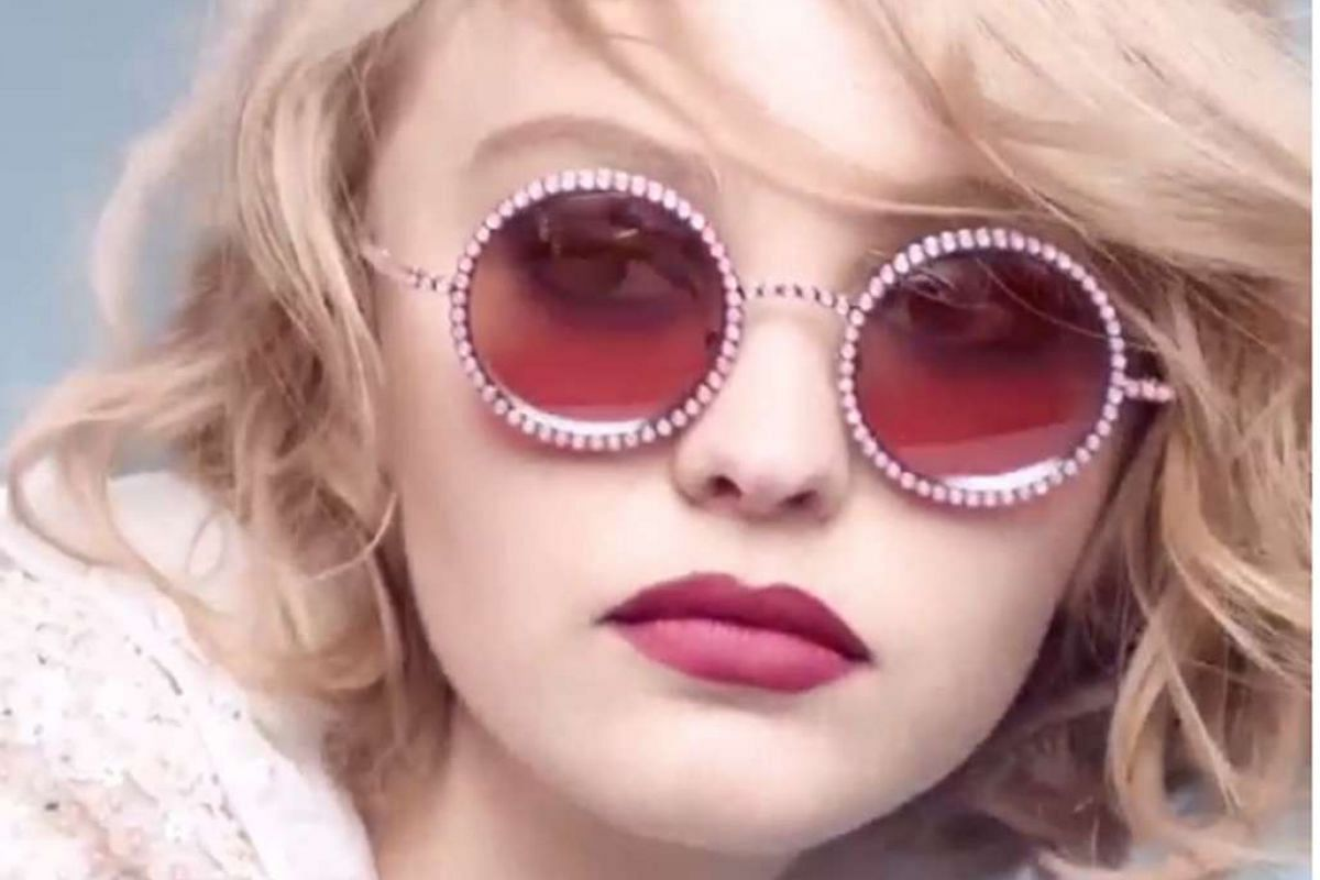 Young girls on the modelling scene include Kaia Gerber, 13, in a fashion spread for CR Fashion Book, and Lily-Rose Depp (above), 16, the new face of Chanel's pearl eyewear collection.