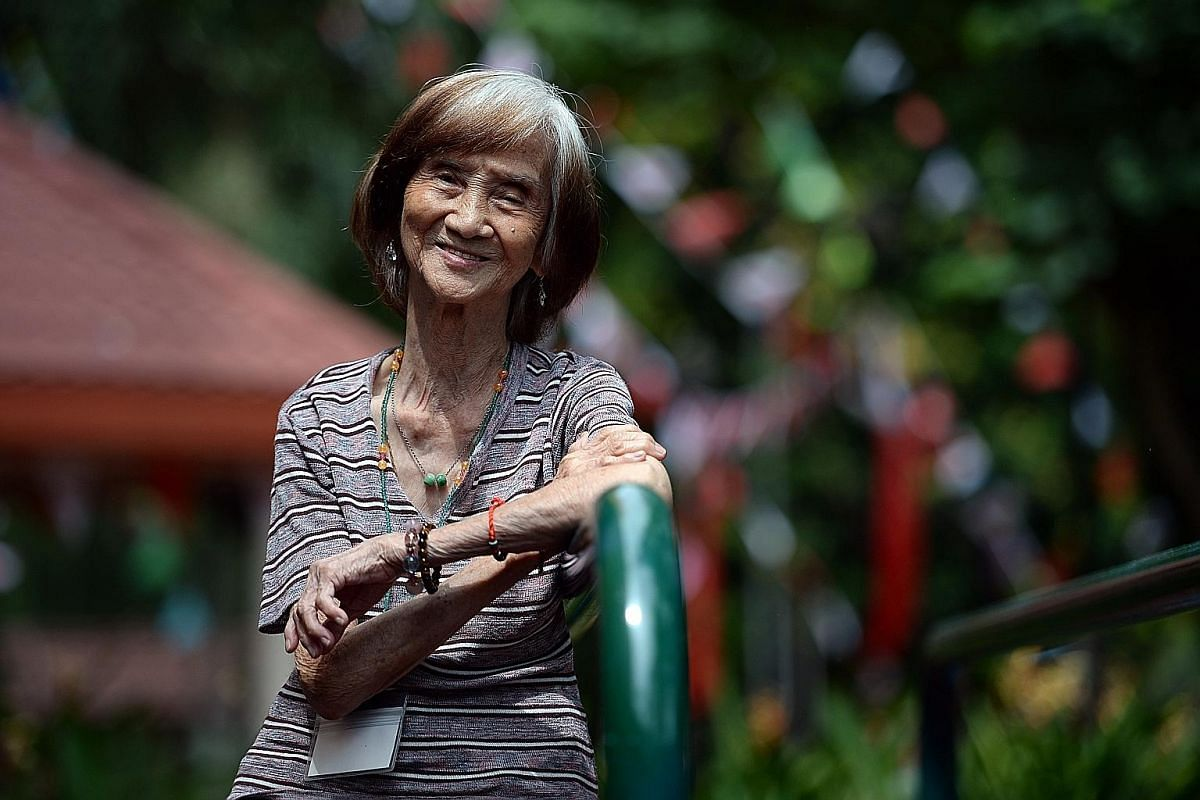 Madam Ng Poh Choo, 83, has been living alone in a one-room rental flat in Bukit Merah for the last 13 years.