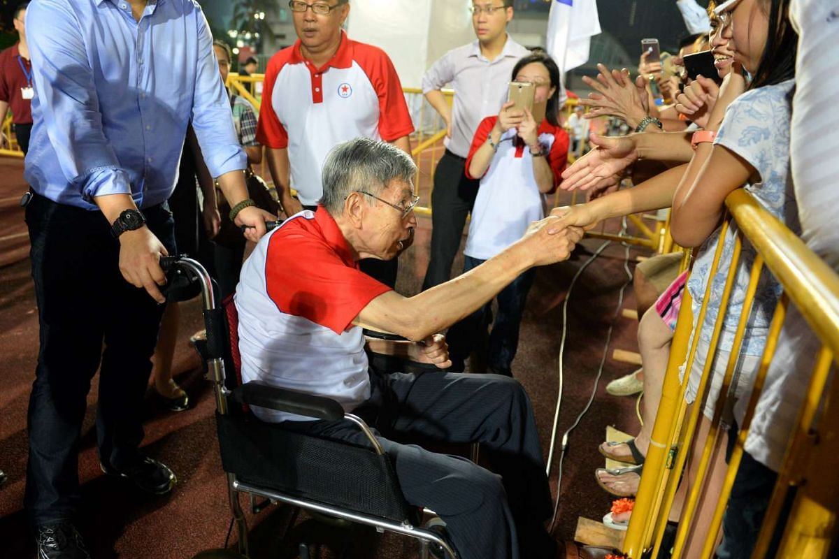 The Singapore People's Party's rally for Bishan-Toa Payoh GRC.
