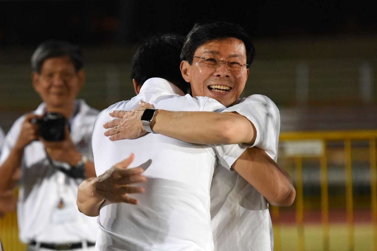 PAP candidate Lee Yi Shyan at Bedok Stadium. He is part of the team for East Coast GRC which was regarded a hot seat. But the PAP team beat the WP with 60.7 per cent of the votes.