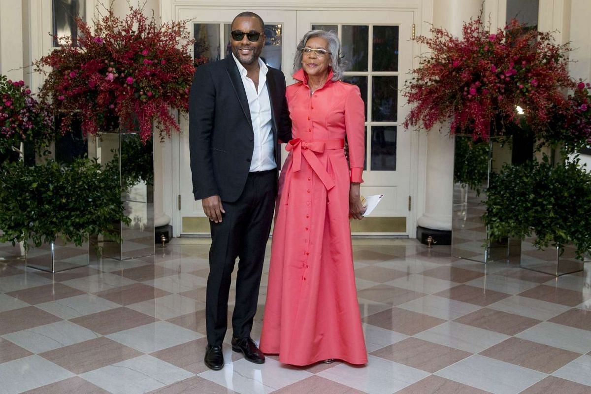 Actor and film-maker Lee Daniels with his mother Clara Daniels.