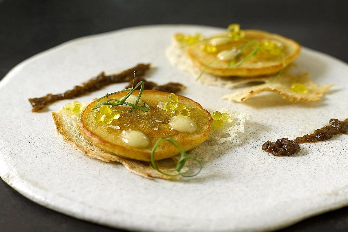 Menu highlights include Spanish Omelette (above), Wagyu Beef Intercostals and Spanish Nigiri.