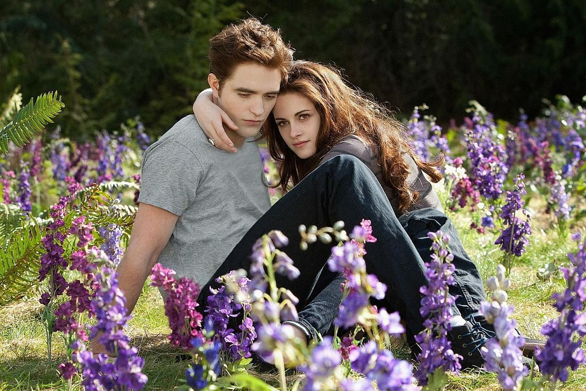 The new book swop the gender roles of Bella Swan and Edward Cullen, played by Kristen Stewart (above) and Robert Pattinson.