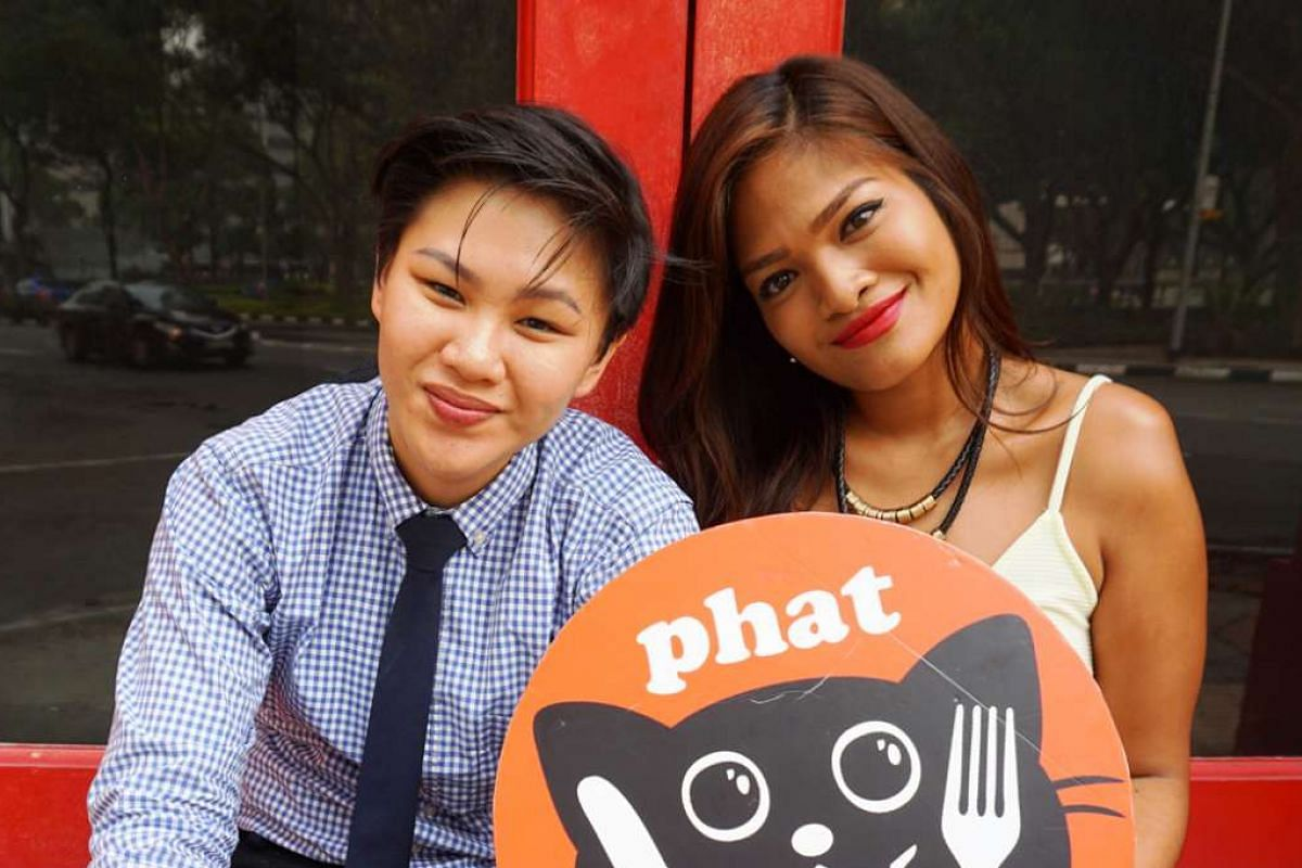 Phat, set up by Ilya Noor (right) and Pang Chew Theng (left).