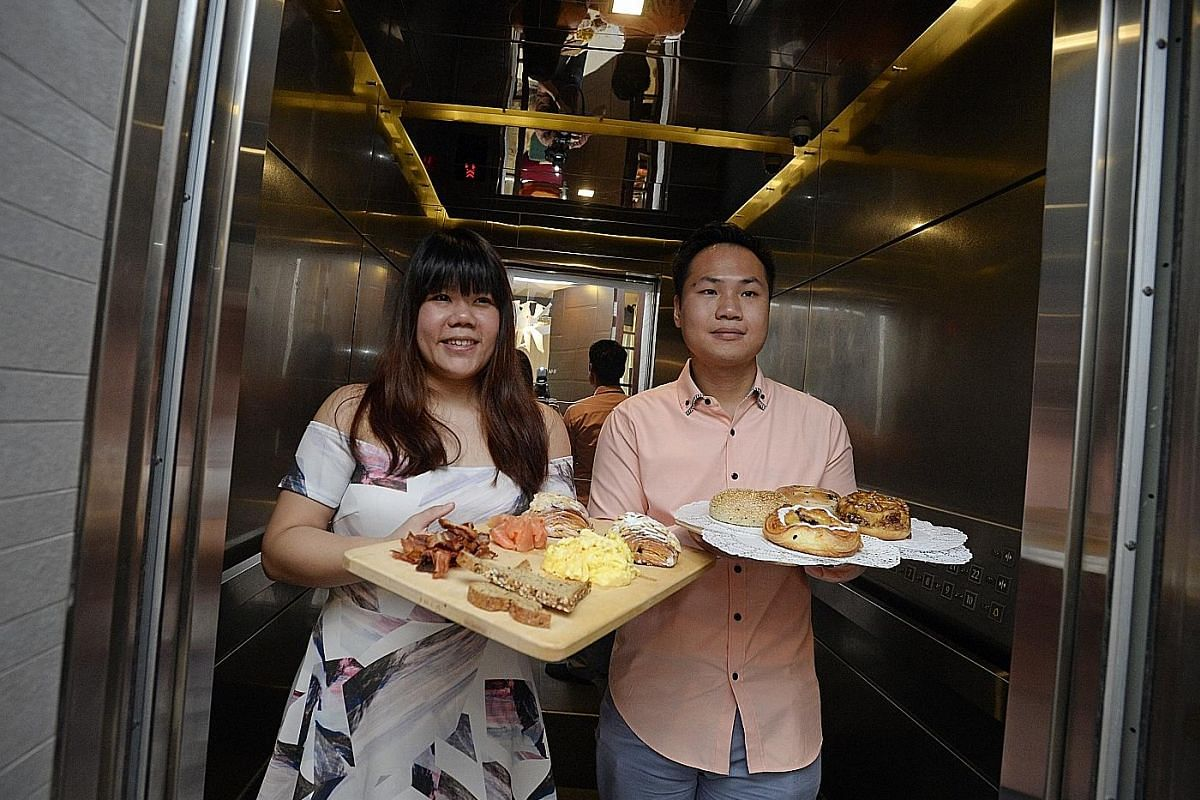 Husband-and-wife team of A Winsome Life, Melvin Lee and Jacqueline Teo (both above, in a photo illustration), often get food delivery requests.
