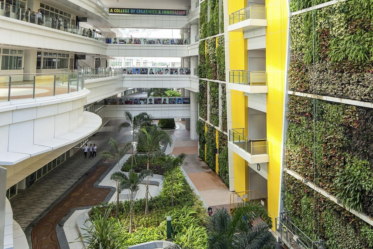 The overall outstanding achievement award was given to Coen Design International for its project BASF Learning Campus (Singapore), which also bagged a gold in the Institution category. The other winners include Westgate , ITE College Central(above), The N