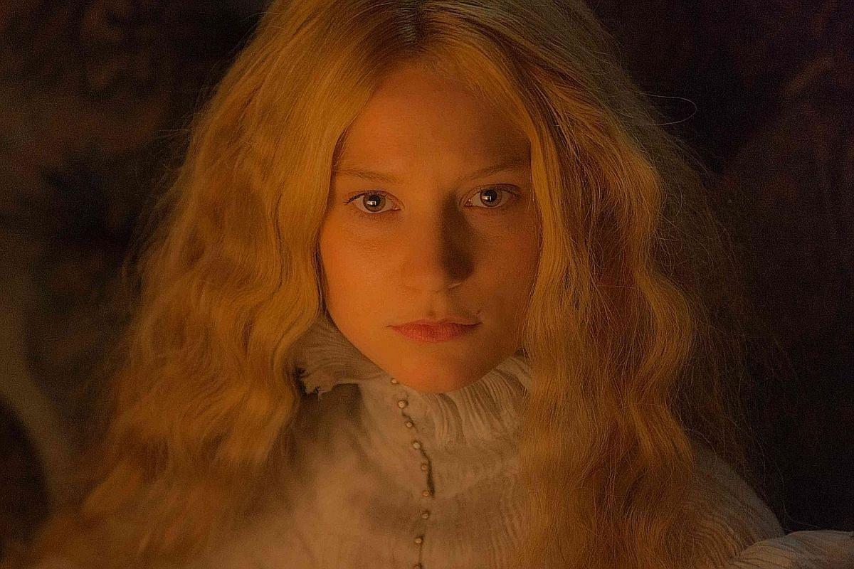 Gothic romance film Crimson Peak stars Mia Wasikowska as Edith Cushing, who discovers that her husband's family home harbours dark secrets.