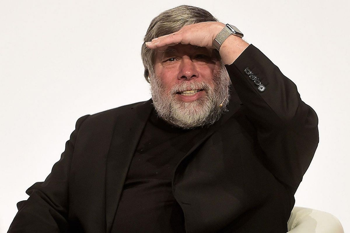 Mr Steve Wozniak says the on-screen confrontations are some of the movie's most memorable, but they are all fiction.