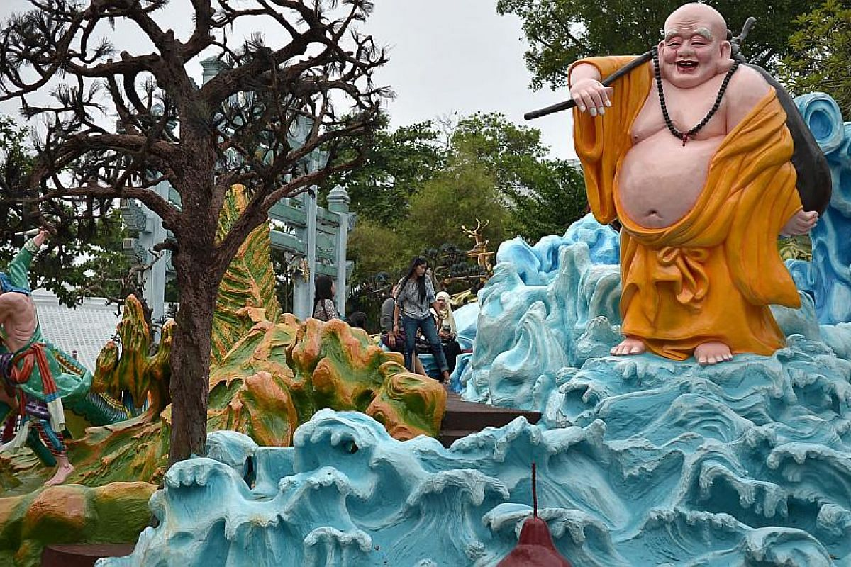 Experts believe Haw Par Villa has the potential to become a Unesco World Heritage Site.