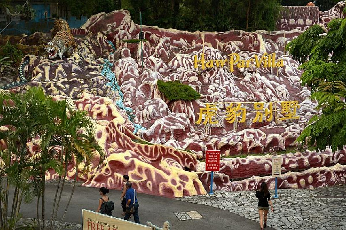 Home to about 1,000 sculptures and dioramas, Haw Par Villa used to be a rite of passage for many Singaporean children of different races and cultures.