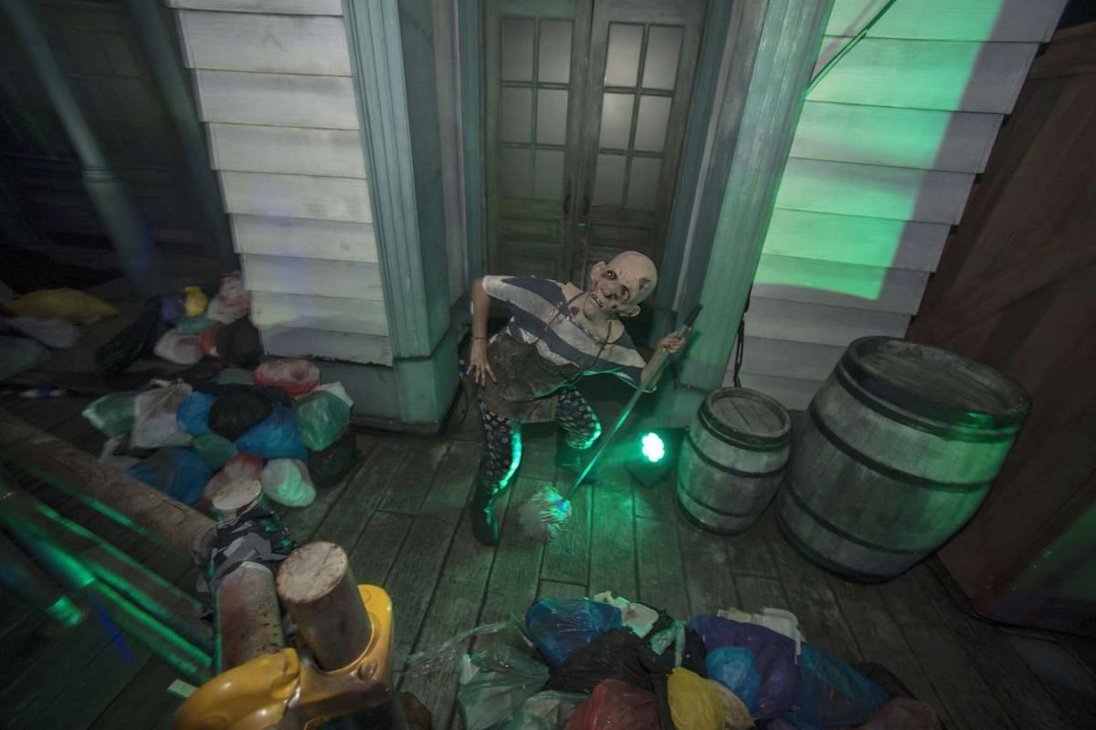 Watch out for ghouls, flesh-eating zombies and pontianaks at Universal Studios Singapore as the theme park on Sentosa rolls out its biggest edition yet of Halloween Horror Nights.