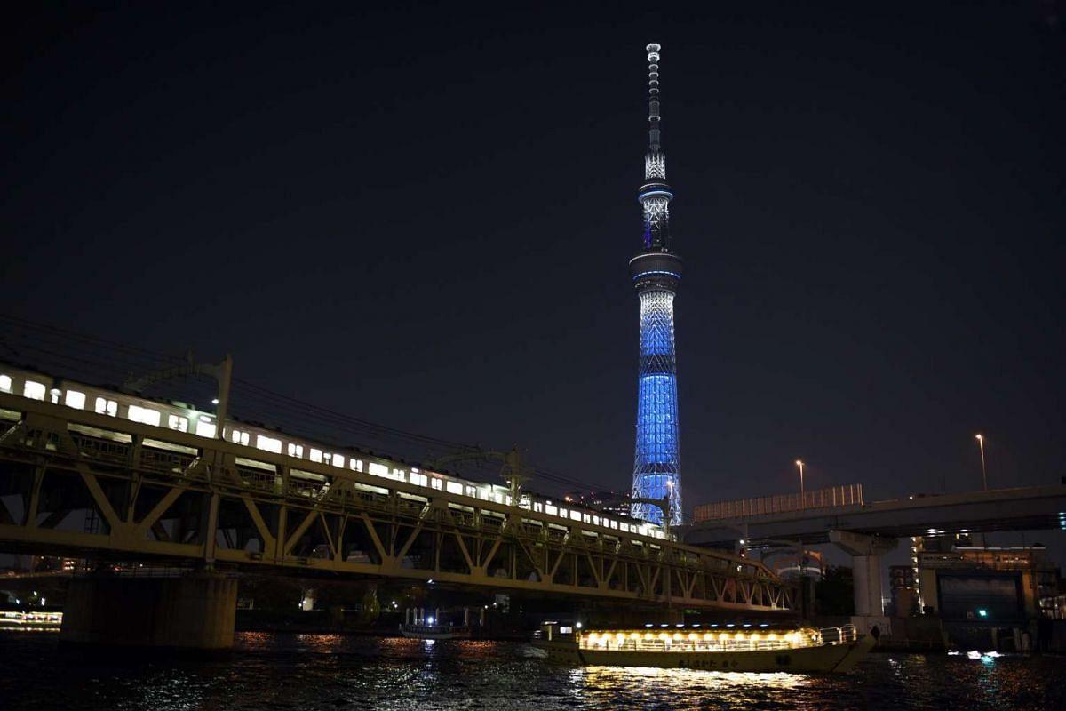 The Tokyo Skytree in Tokyo, Japan.