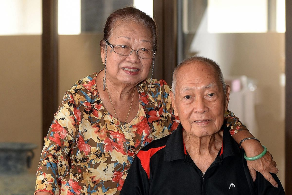 Retirees Chan Wing Cheong, 89, and his wife Mary (both above), 85, travel long distances at least once a year to visit family. Madam Tan Jin Hua (above), 86, relishes the freedom of driving her own car.