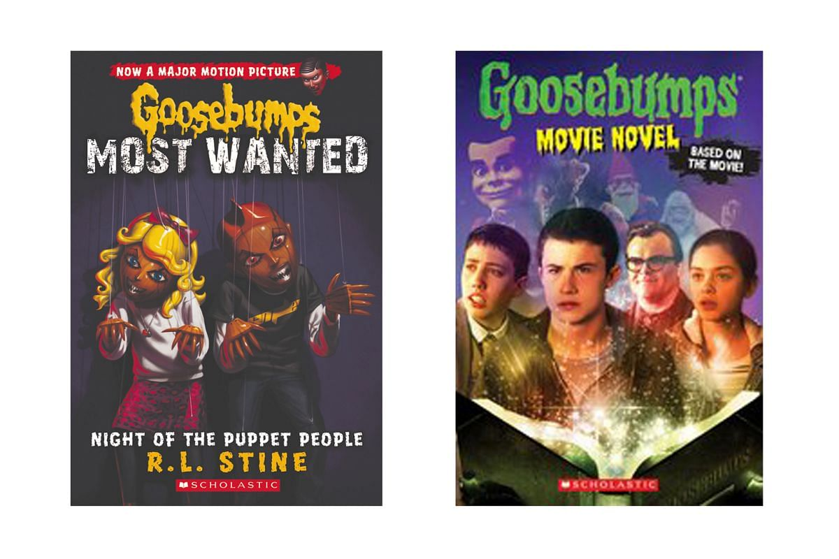 Robert Lawrence Stine, better known as R.L. Stine, author of horror books for young adults and children, including the Goosebumps series (above).