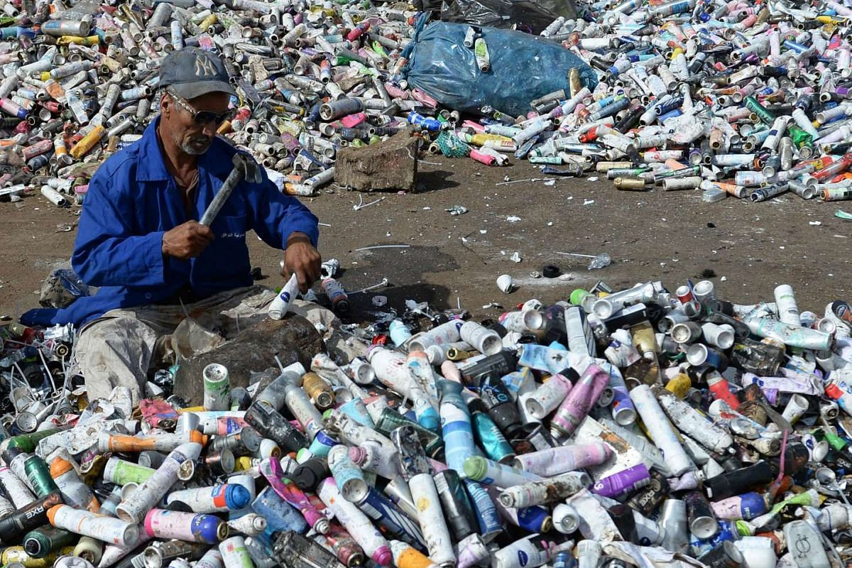 Morocco recycles only about 8 per cent of its municipal waste, but has targeted to increase the amount to 20 per cent by 2020.