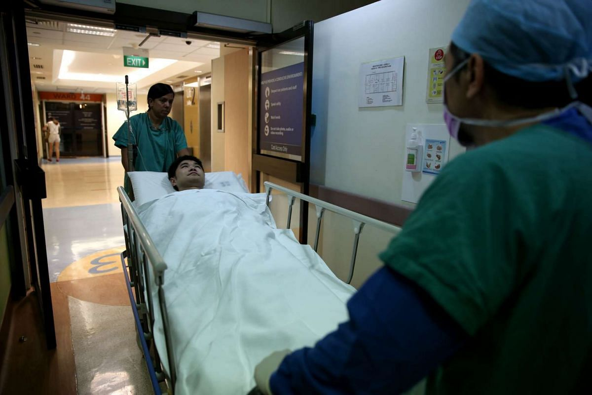 Hours before going into the hospital operating theatre on Aug 1 to donate part of his liver to his son, Mr Guo recounted the last two hellish years. His son Jeremy had to make multiple visits to the hospital emergency department as he fell sick frequ