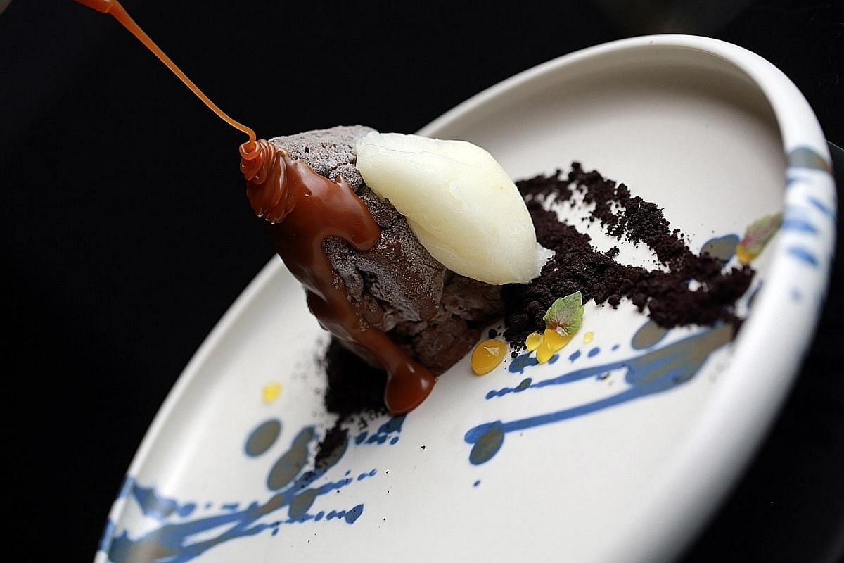 Cobo House by 2am:dessertbar in Hong Kong will serve desserts such as Chocolate H20 (above), Popcorn and Cassis Plum by chef Janice Wong.