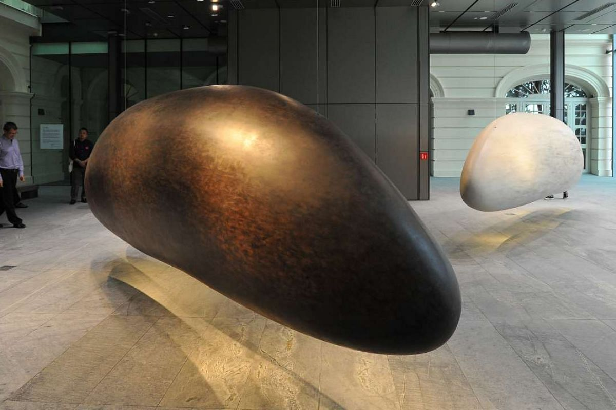 Grains Of Thought by Singapore artist Eng Tow.