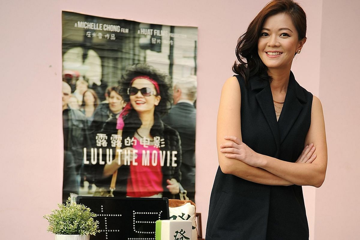 Artists Lee Teng and Pornsak are part of agency Left Profile set up by Michelle Chong (above).