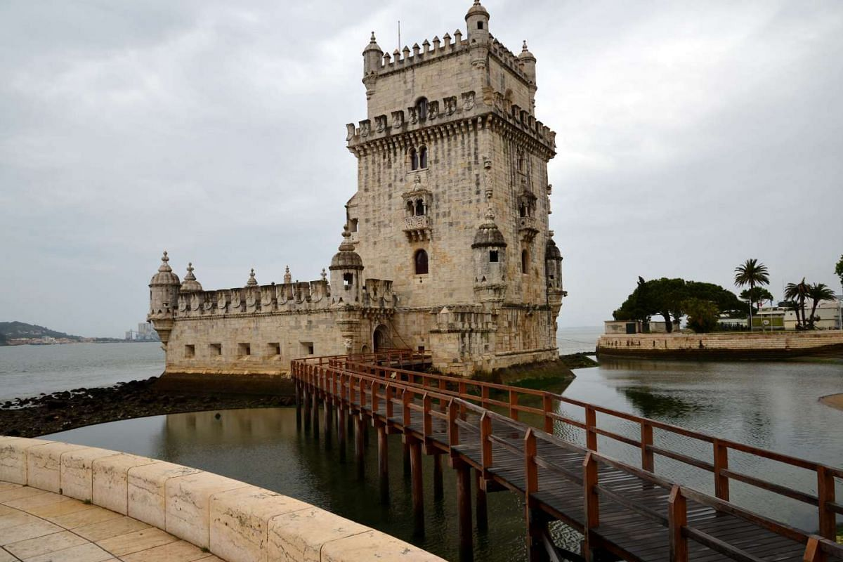 MAY 3, 9.35AM: Belem Tower in Lisbon, Portugal.