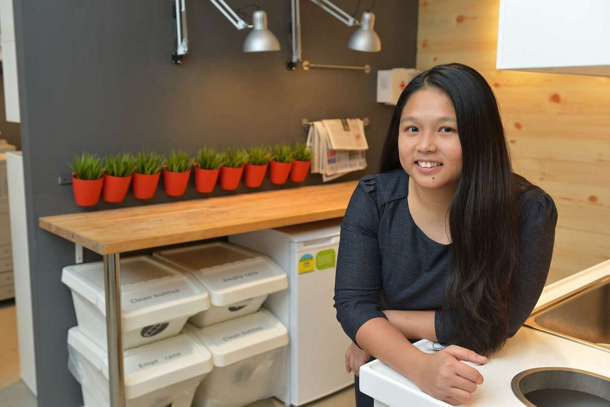 Dr Lee Hui Mien loves her job as a sustainability officer as she can not only help the company she works for, but also improve the lives of people and the environment.