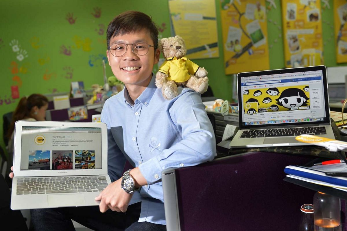 Mr Marcus Yong is assistant manager of digital marketing at budget airline Scoot, where he drives the company's digital marketing.