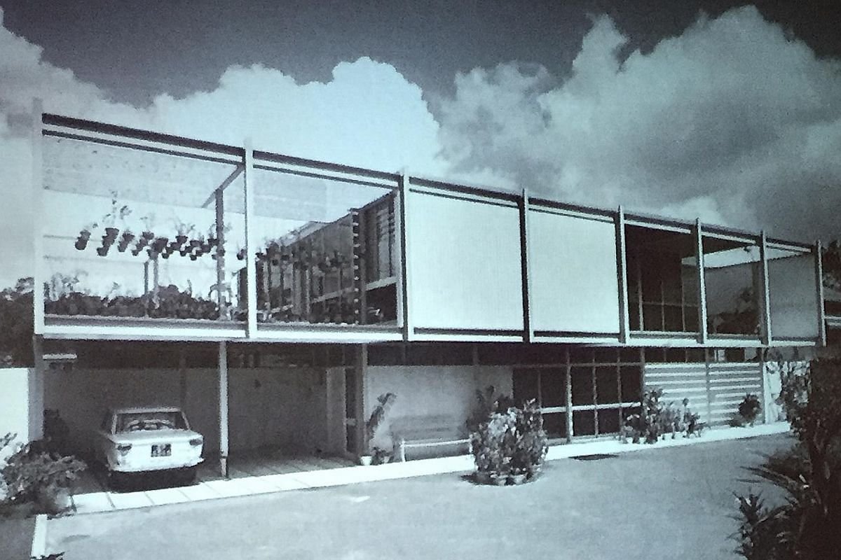 My Life So Far: The house in Rochalie Drive in the 1970s designed by Mr Lim.