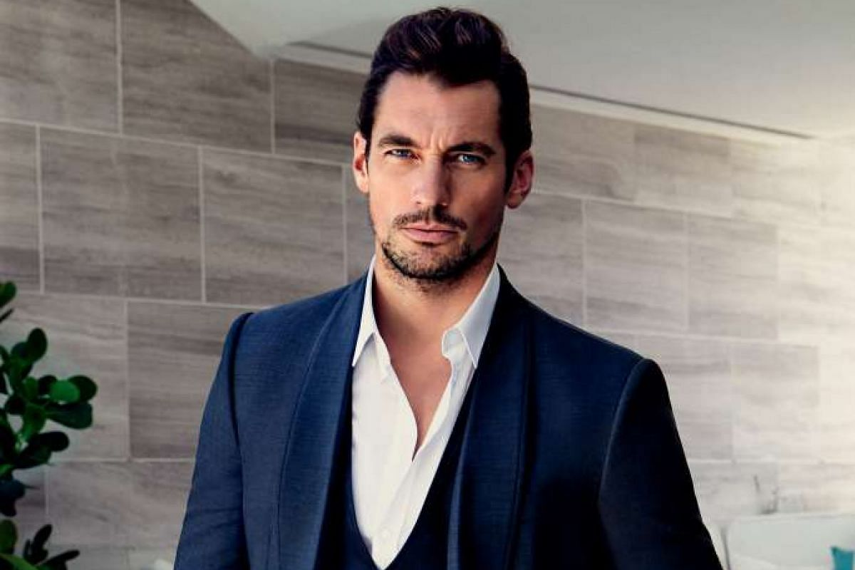 David Gandy says he does not fear competition from younger models because he is a more recognisable brand.