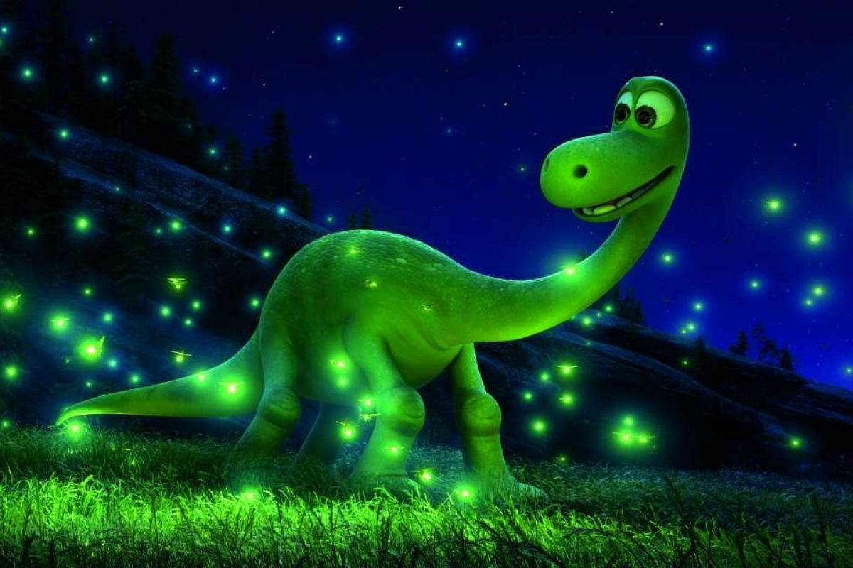 The Good Dinosaur (above), a tearjerker directed by animator Peter Sohn, who is of Korean descent, is about a boy dinosaur trying to find his way home.
