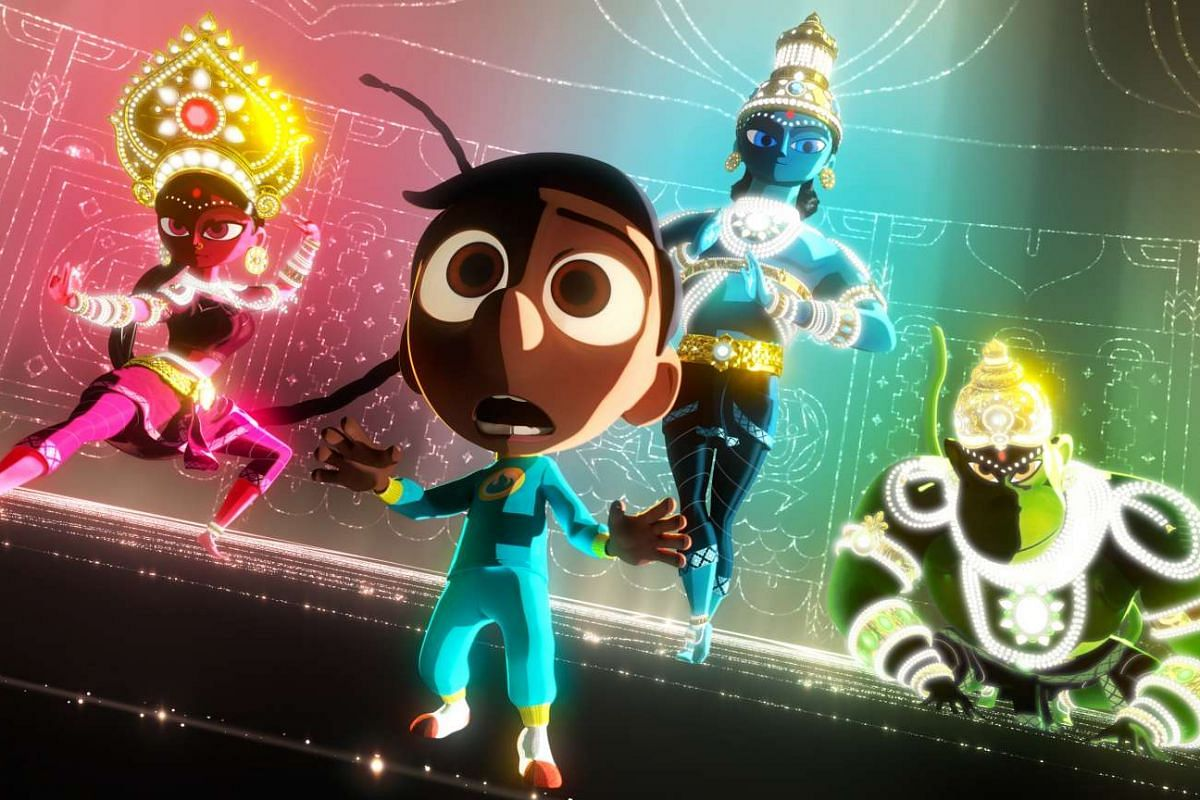 Short film Sanjay's Super Team (above), by animator Sanjay Patel, is about an Indian boy who learns to appreciate his heritage.