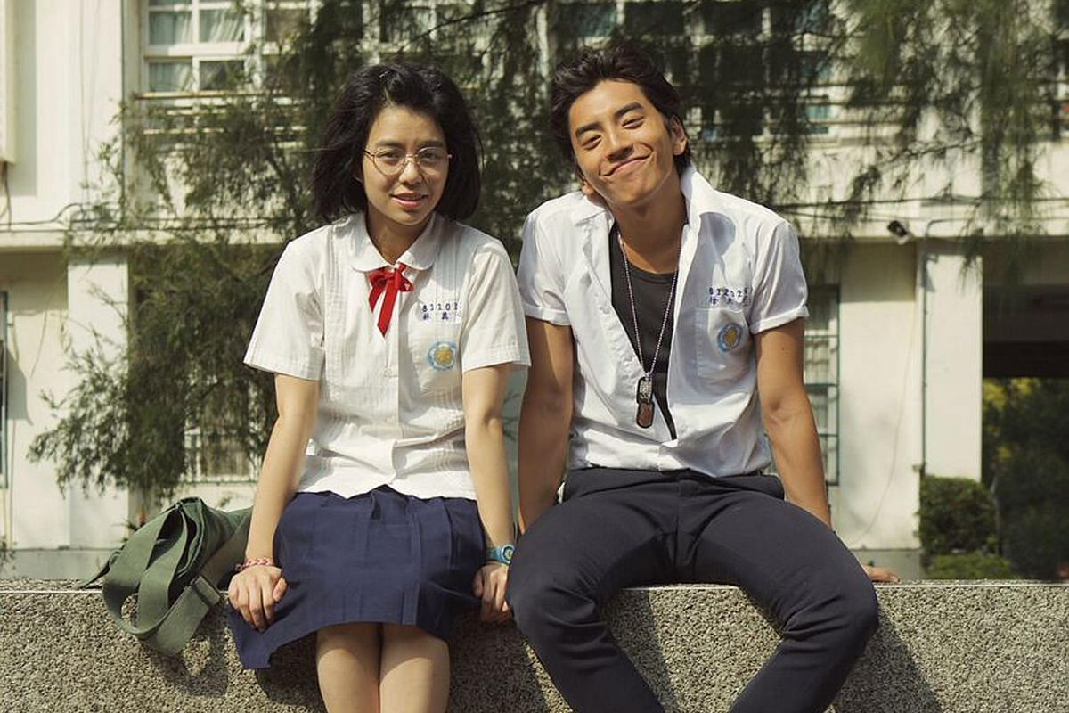 The hit Taiwanese film Our Times has drawn hordes of repeat moviegoers with its relatable themes and endearing characters. It stars Vivian Sung (left) as nerdy wallflower Truly Lin and Darren Wang (right) as bad-boy charmer Hsu Tai-yu in an unlikely
